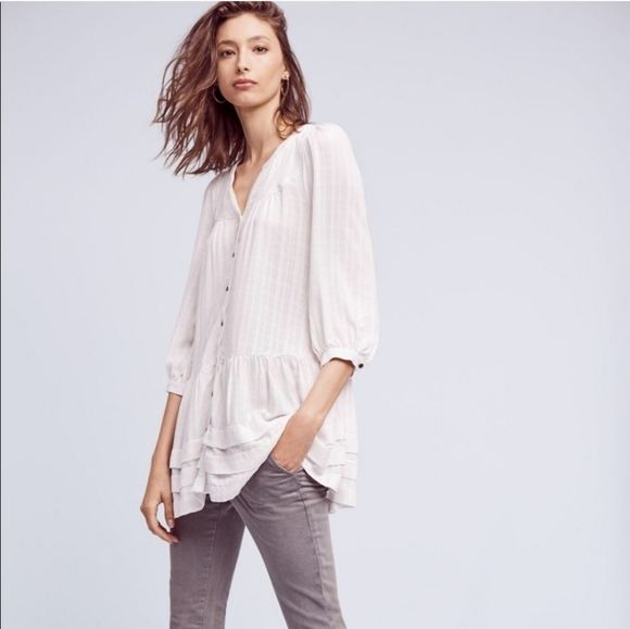 "Anthropologie ""Holding Horses"" pavin tunic"